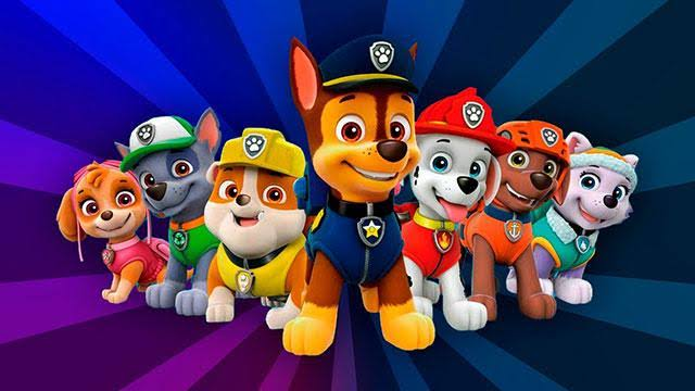 paw patrol dog names
